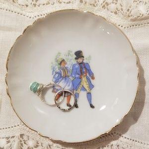 Antique ring dish